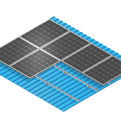 Folded Metal Roof Solar Mounting manufacturer