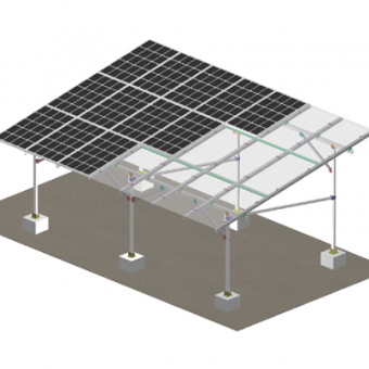 Waterproof structural photovoltaic canopy supplier