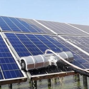 Solar panel washing equipment