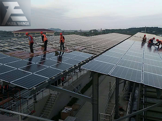 Steel solar mounting system